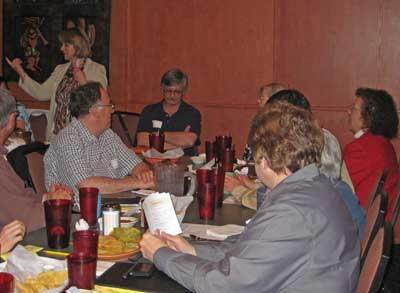 Kachina Chapter Meeting, February 25, 2009 - Sheina Announcements