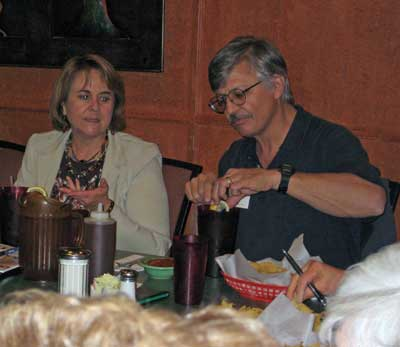 Kachina Chapter Meeting, February 25, 2009 - Sheina and Michael